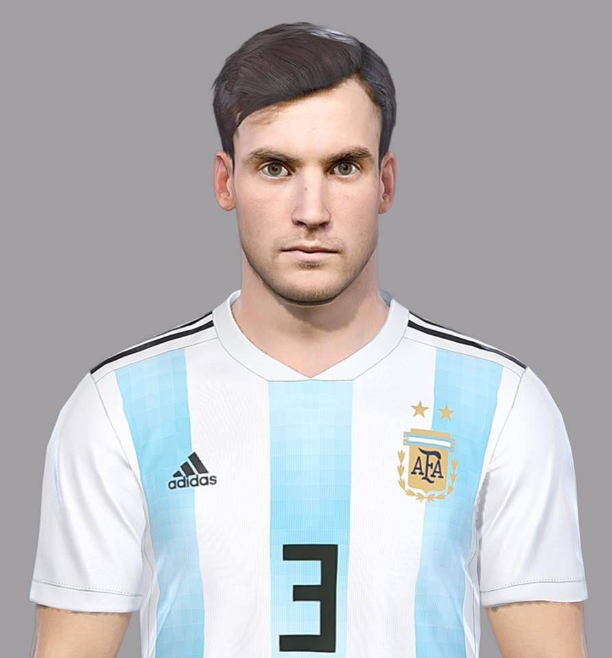 Ultigamerz Pes 2010 Pes 2011 Face: Ultigamerz: PES 2018 Nicolás Tagliafico (AFC Ajax