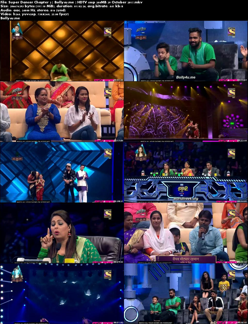 Super Dancer Chapter 2 HDTV 480p 200MB 29 October 2017 Download