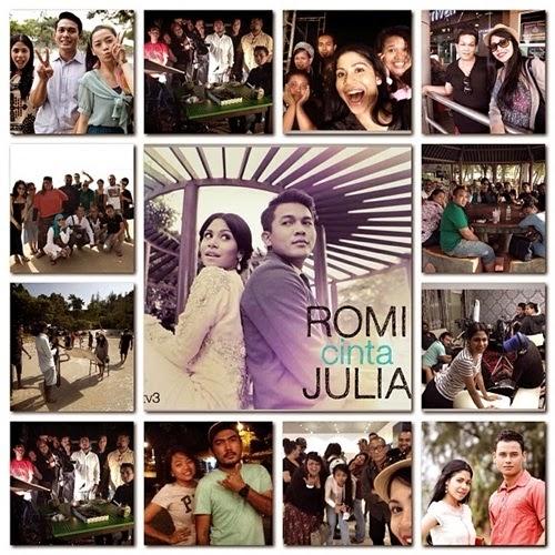 Ost Romi Cinta Julia. Lagu tema Romi Cinta Julia. gambar Romi Cinta Julia. drama slot Lestary Romi Cinta Julia tv3.