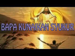 Chord Lagu Rohani : BAPA, BAPA KUNAIKKAN SYUKUR - David Tjakra Wisaksana