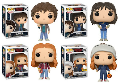 Stranger Things Pop! Series 3 Vinyl Figures by Funko