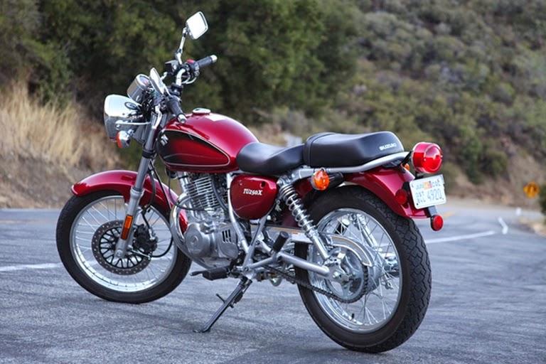 New Motorcycle Suzuki Tu250x Review Price And Specs