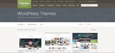 10 Best Marketplaces For Premium WordPress Themes and
