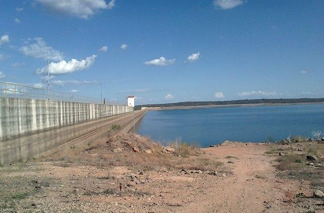 Barragem de Apodi, que abastece Pau dos Ferros e região, atinge um dos volumes mais baixos desde a sua inauguração