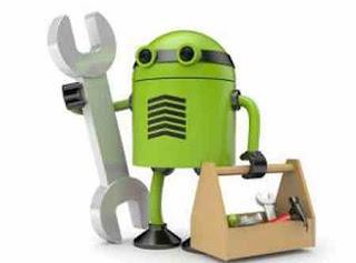 perbaikan android dengan reset dan flash