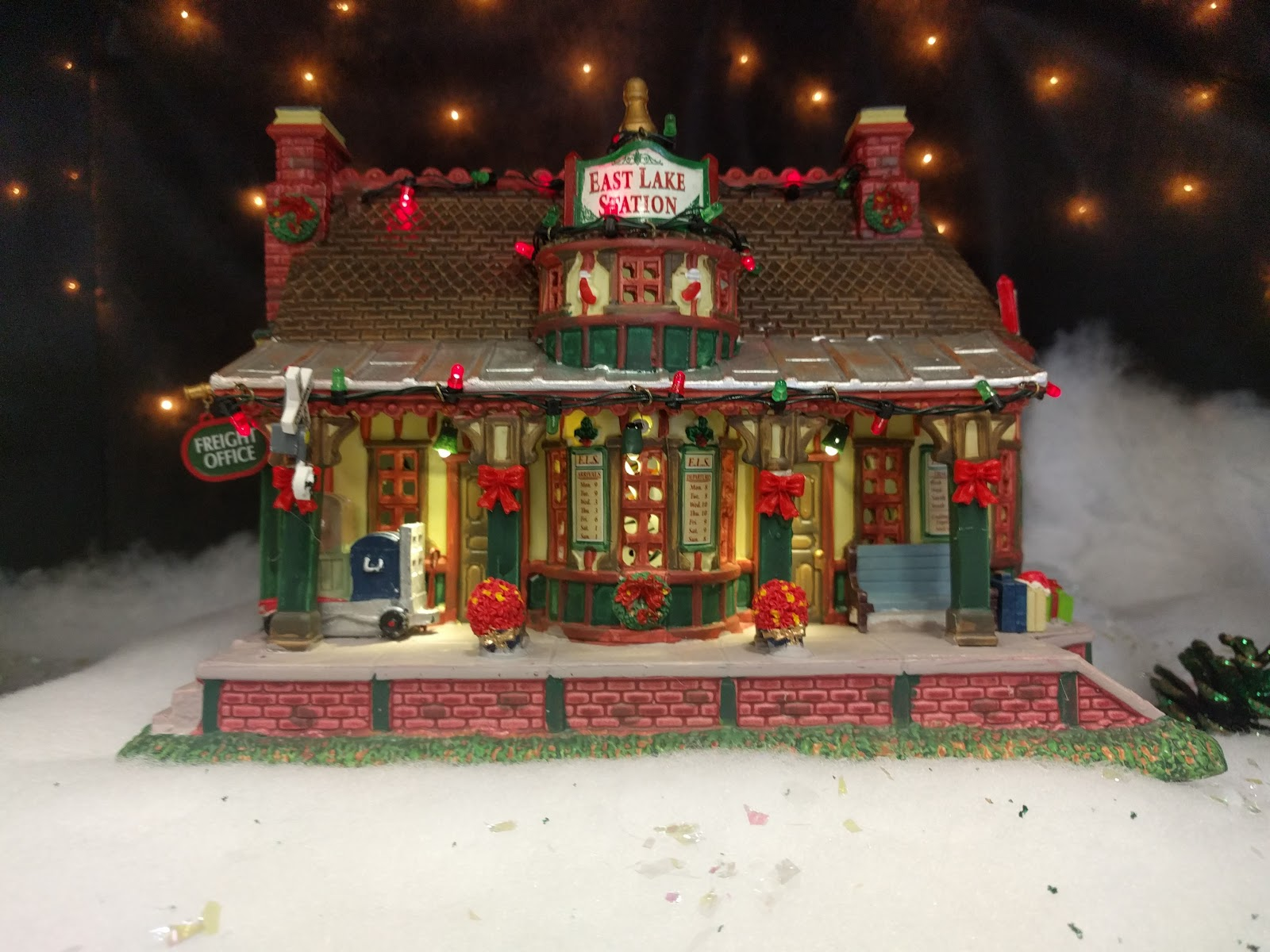 East Lake Station - Lemax at Menards Christmas Village