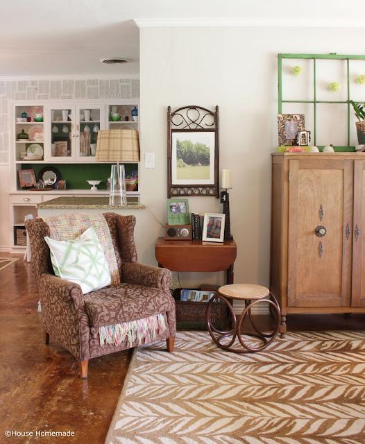 Thrift store art makeover- House Homemade