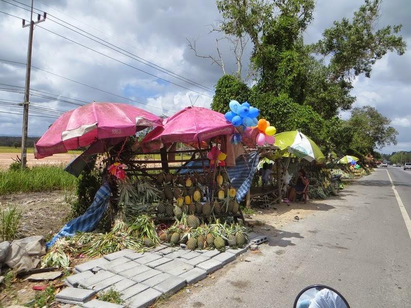 Продажа ананасов Таиланд