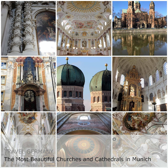 Travel Germany - The Most Beautiful Churches and Cathedrals in Munich