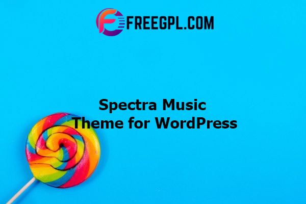 Spectra - Music Theme for WordPress Nulled Download Free