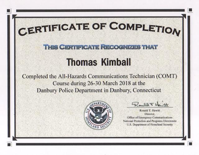 Thomas Quick Kimball WA8UNS Blog : All-Hazards Communications ...