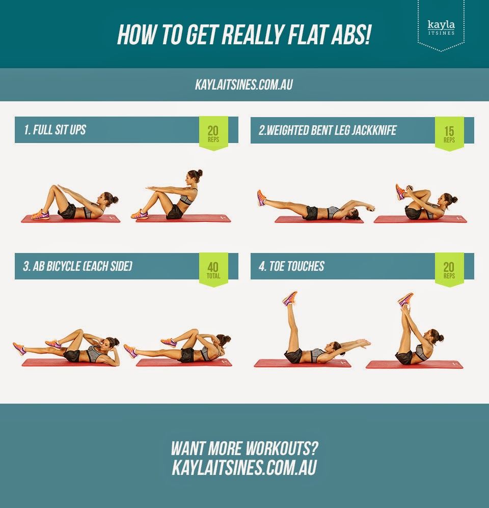 kayla itsines bikini body workout flat abs