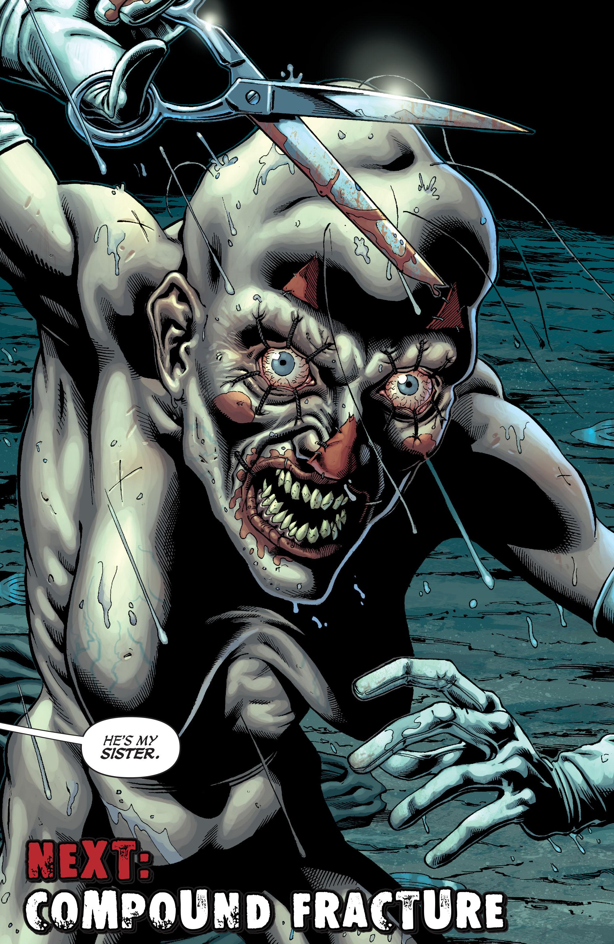 Read online Secret Six (2008) comic -  Issue #5 - 23