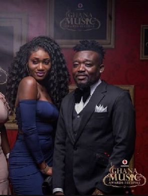 HOT VIDEO: Wendy Shay caught in bed naked with Bullet by girlfriend