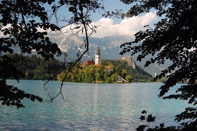 une des vues les plus célèbres de tout le pays, l'église de l'îlot de Bled