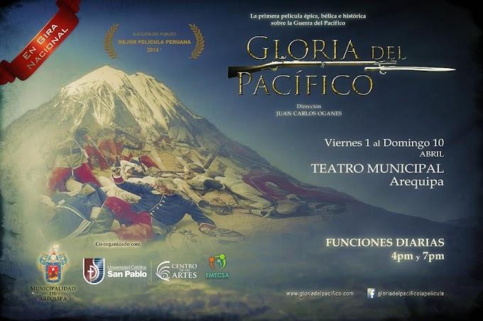 Película 'Gloria del Pacífico' - del 01 al 10 de abril