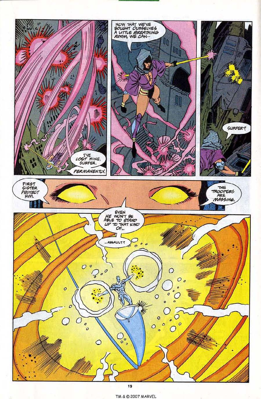 Read online Silver Surfer (1987) comic -  Issue #81 - 21