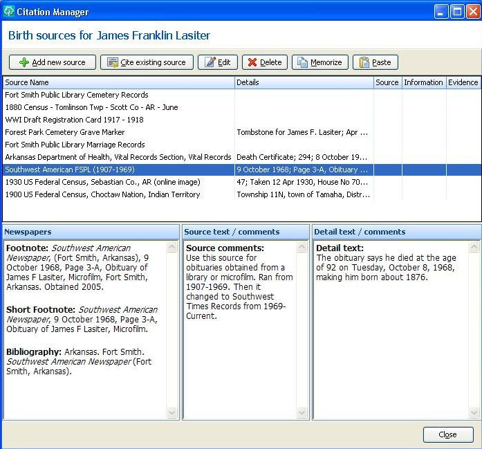 Welcome to Genealogy By Ginger!: How I use my Genealogy Software