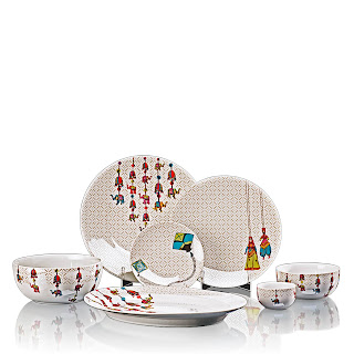 6153Katputli-Kathputli Dinner Set For 6-Rs. 28,980-