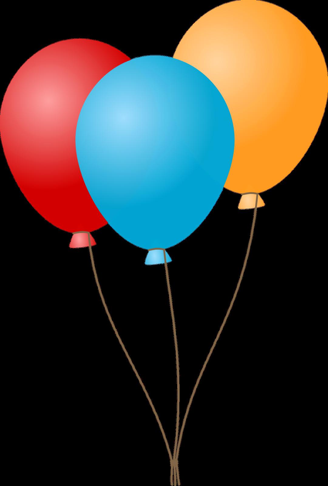 Balloon Clip Art Transparent Background