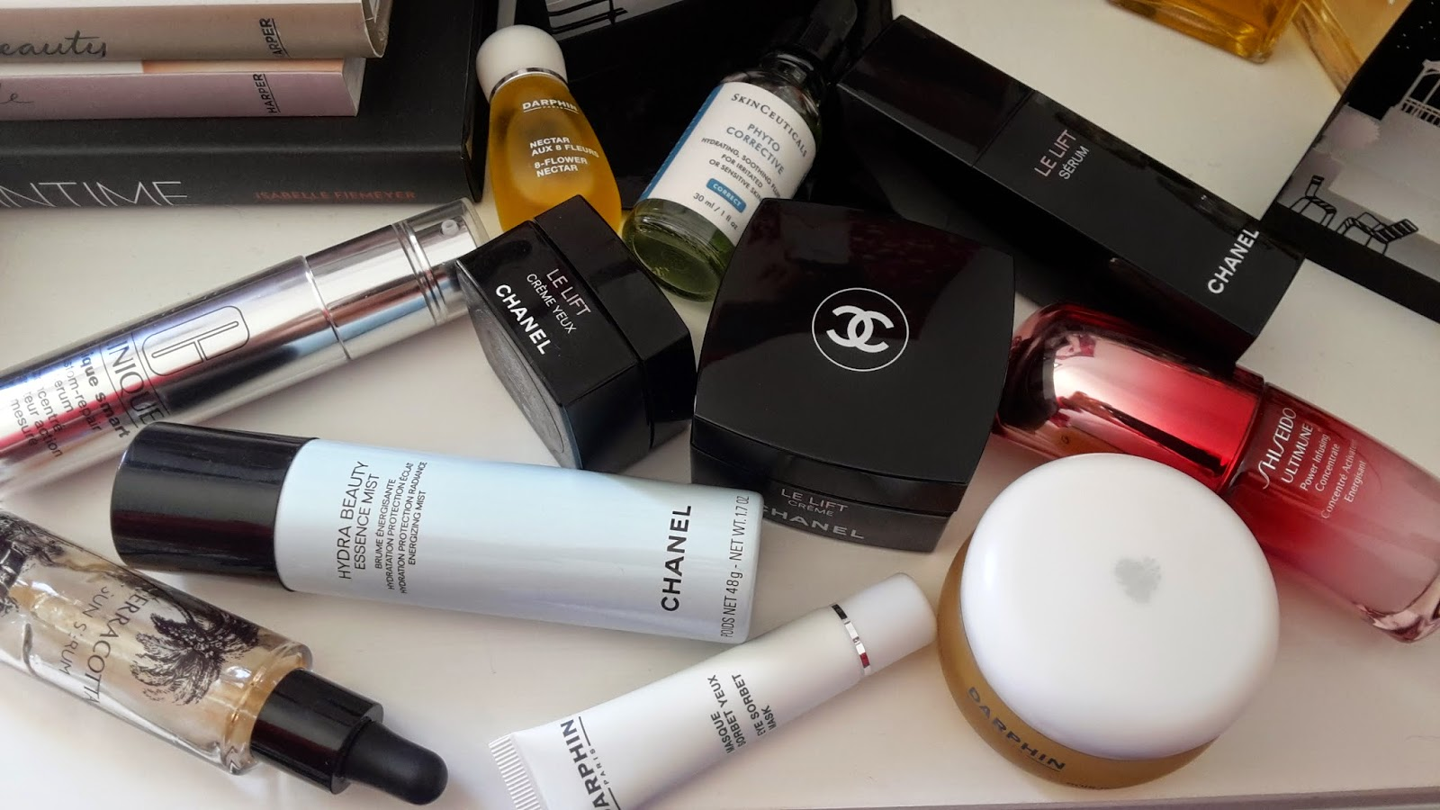 prodotti beauty skin care creme viso top 2014, chanel beauty, guerlain, darphin, clinique, shiseido