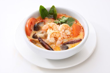 Indian Prawn Curry with Coconut Milk