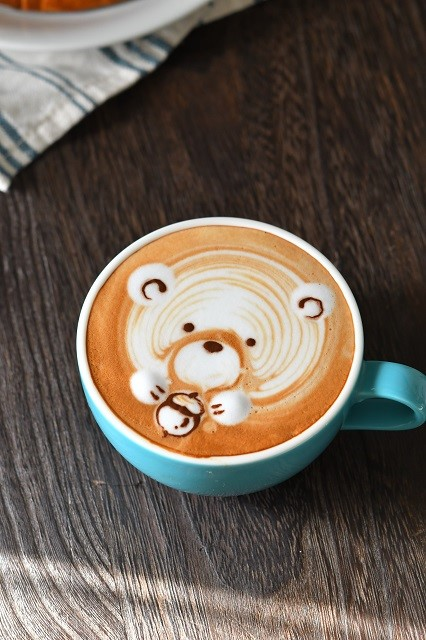 Incredible Latte Art.