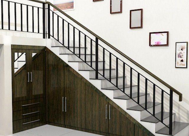 contoh model railing tangga dan balkon minmalis