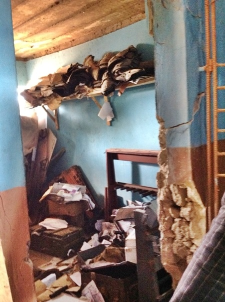 Inspector Shot Dead, Armoury Completely Looted as Gunmen Attack Ekiti Police Division (Photos)