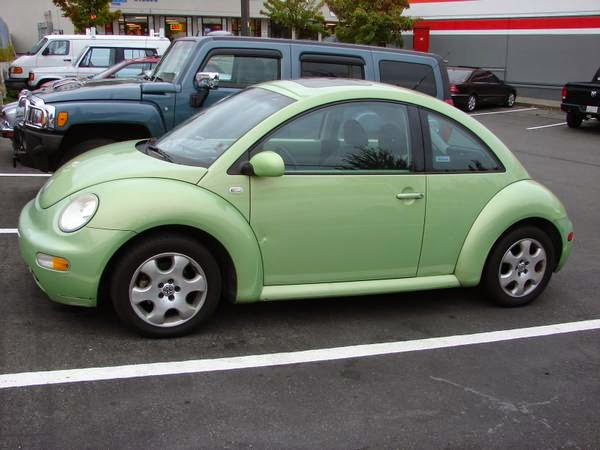 used vw beetle for sale by owner: 2002