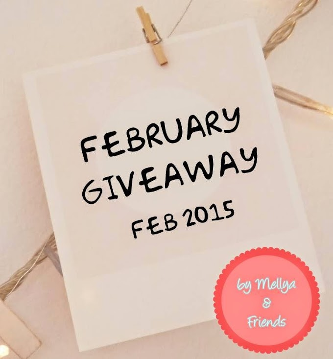 February Giveaway by Mellyareenza
