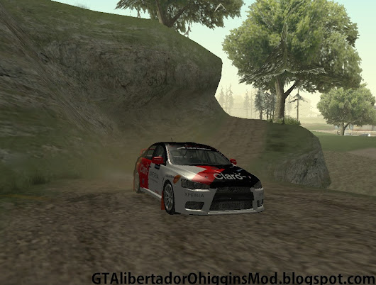 [GTA SA] Mitsubishi Lancer Evolution Rally Team Claro