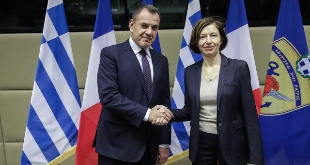 Παναγιωτόπουλος: Αναβαθμισμένη η αμυντική συμφωνία με την Γαλλία