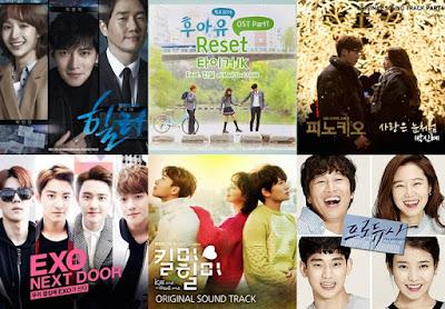 Lagu OST Drama Korea Terbaik