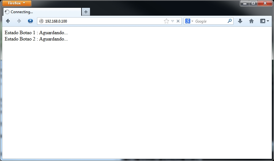 Browser - Aguardando