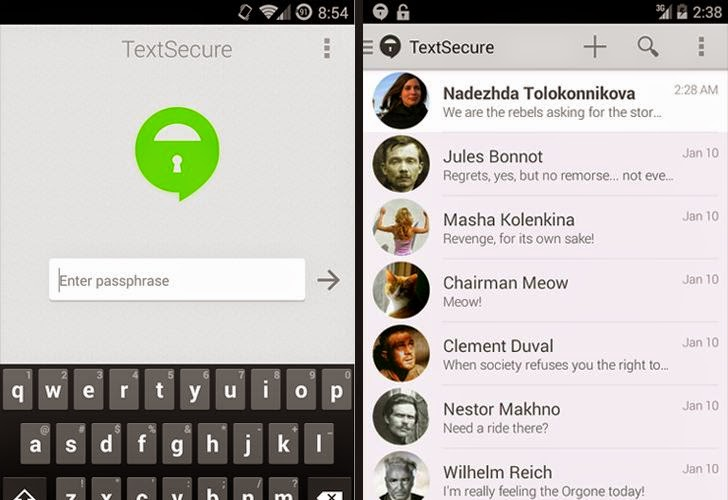 TextSecure Private Messenger Vulnerable to Unknown Key-Share Attack