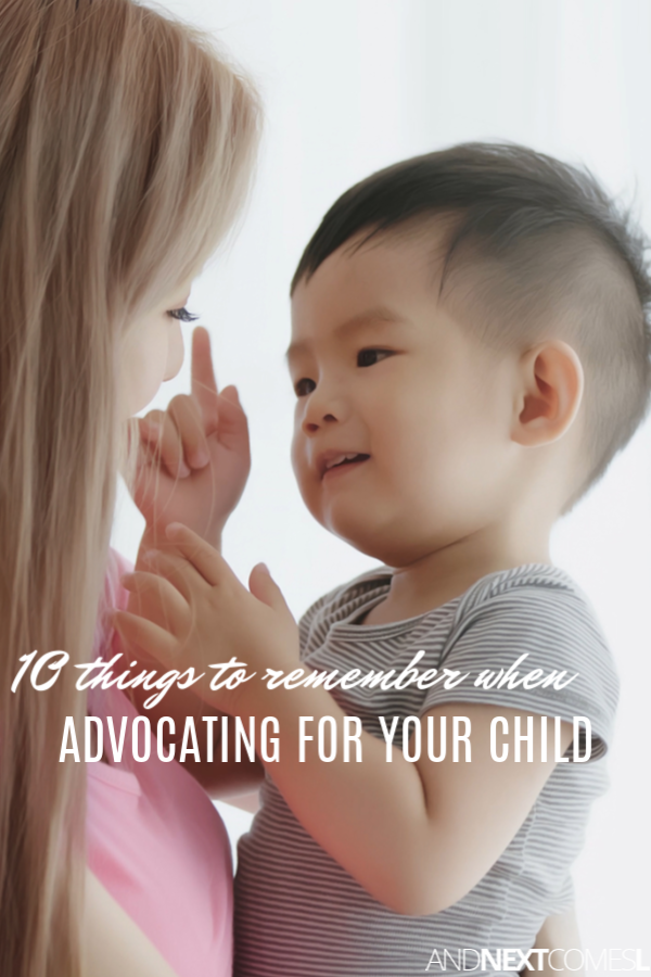 Tips for advocating for your special needs child