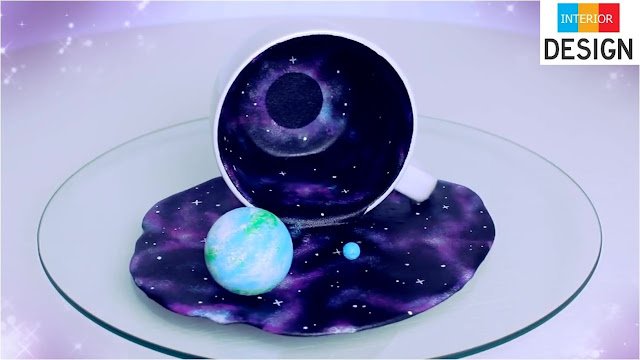DIY Universe In A Cup Miniature Cosmos With Galaxies 4
