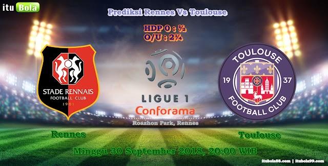 Prediksi Rennes Vs Toulouse - ituBola