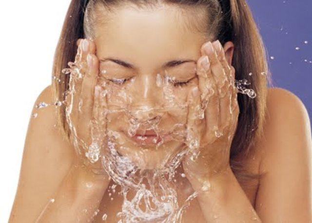 Cómo lavar la cara