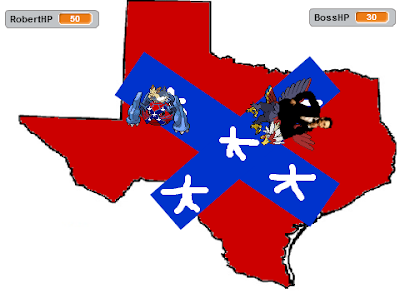 Abraham Lincoln Braviary Capture the Confederate Flag game Wing Attack Texas