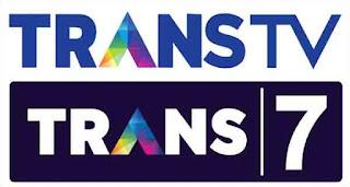 Trans TV dan Trans 7 di Telkom 1