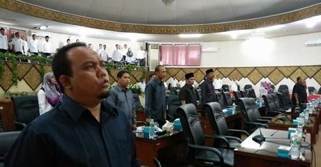 Semua Fraksi di DPRD Kota Padang Setujui KUPA-PPAS APBD Kota Padang Tahun 2017