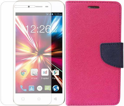 Micromax CANVAS Spark 4G Best Tempered Glass Screen Protector Cases and Covers
