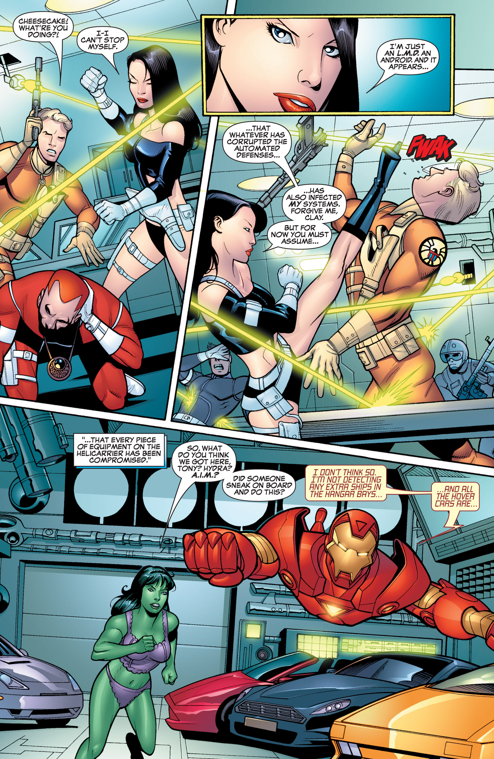 Read online She-Hulk (2005) comic -  Issue #17 - 12
