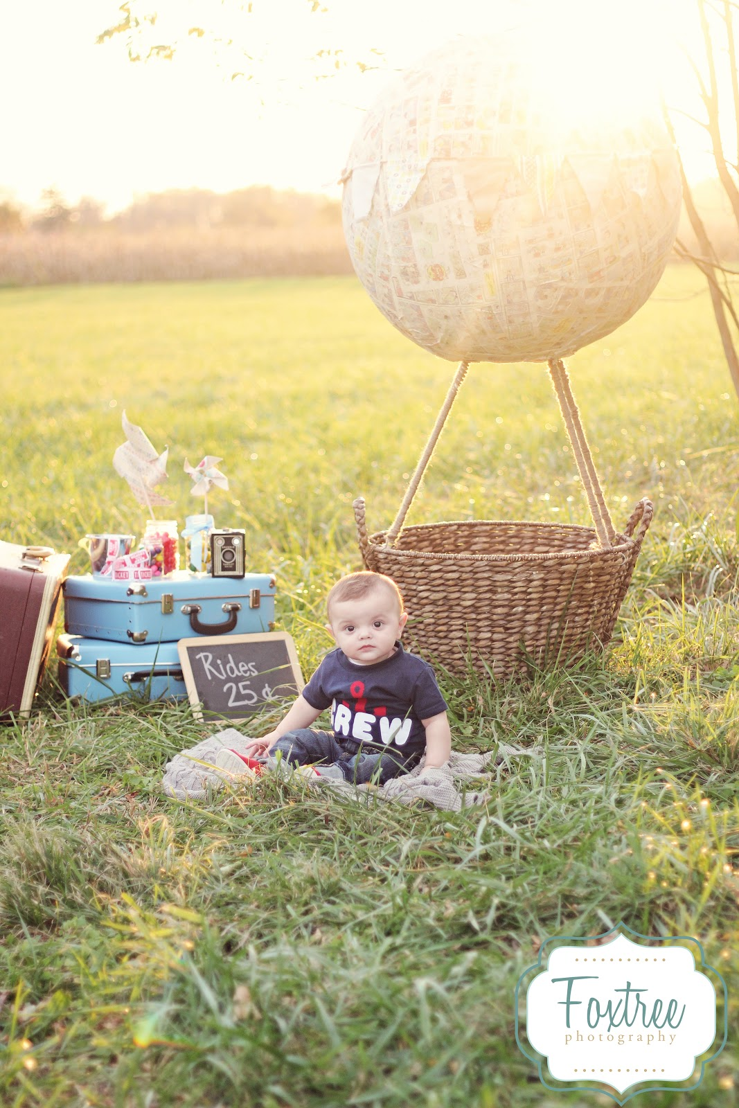 Foxtree Photography Propology Diy Hot Air Balloon On A