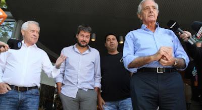 Angelici: Decidimos avanzar con el tema de la Superliga