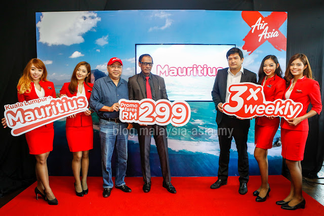 Mauritius Air Asia X Flights