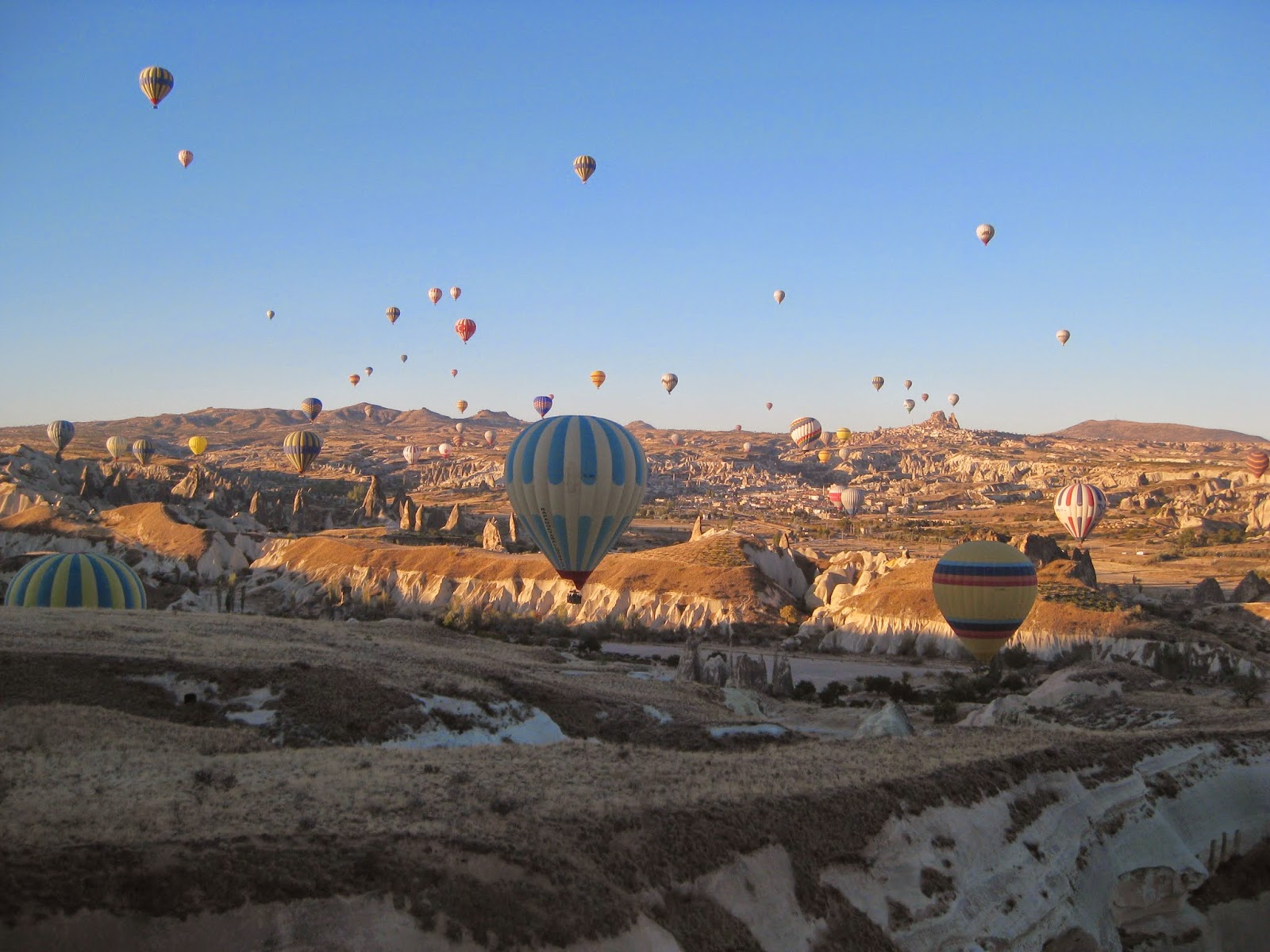 Cappadocia - Navigating over the landscape