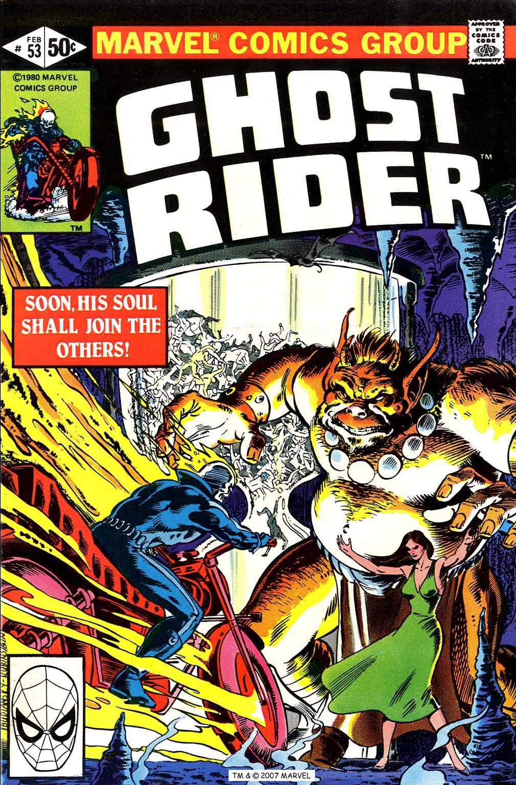 Ghost Rider (1973) issue 53 - Page 1